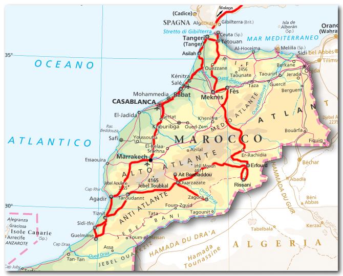 Marocco Cartina Geografica Fisica.Una Scuola Interculturale Lessons Blendspace