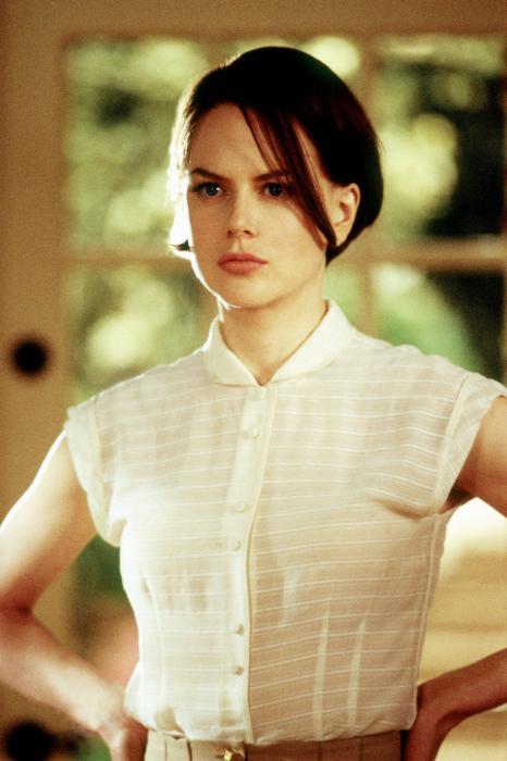 Nicole Kidman/Joanna, nel film del 2004 liberamente ispirato al libro.