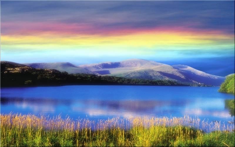 """Paesaggio da sogno, dalla pagina """"Pensieri Solari"""""""