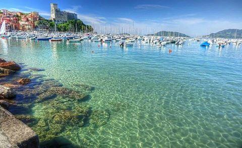 """Questo, tanto per dire, è il posto dove vivo. Foto del bravissimo Mario Riva pubblicata sulla pagina """"Lerici tutto l'anno"""""""